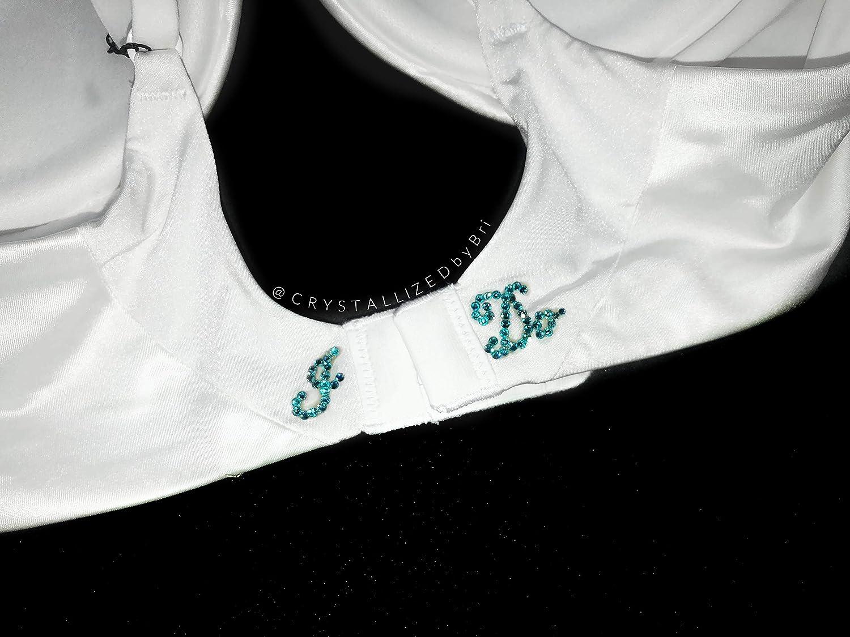 388cb41ec6 Amazon.com  CRYSTALLIZED Bridal Push Up Bra Bling Hand Made with Swarovski  Crystals  Handmade