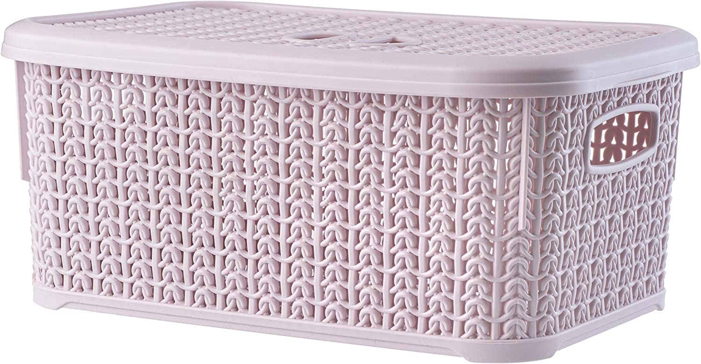 Haken Zubeh/ör Fliegenfischen Aufbewahrungsbox kaakaeu Tragbare Mehrzweck-K/öder Aufbewahrungsbox f/ür K/öder