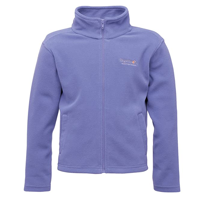 Regatta Childrens King Ii Lightweight Full Zip Fleece Fleece