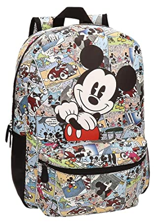 Disney 32323A1 Mickey Comic Mochila Escolar, 16.13 litros, Color: Amazon.es: Equipaje