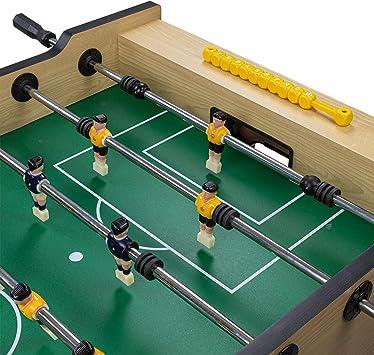Dema – Futbolín Folding Soccer, Beige/Negro: Amazon.es: Deportes y ...