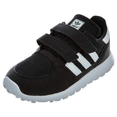 separation shoes 55619 2ce58 adidas Originals Baby Forest Grove Cf I Running Shoe WhiteBlack, 4K M US
