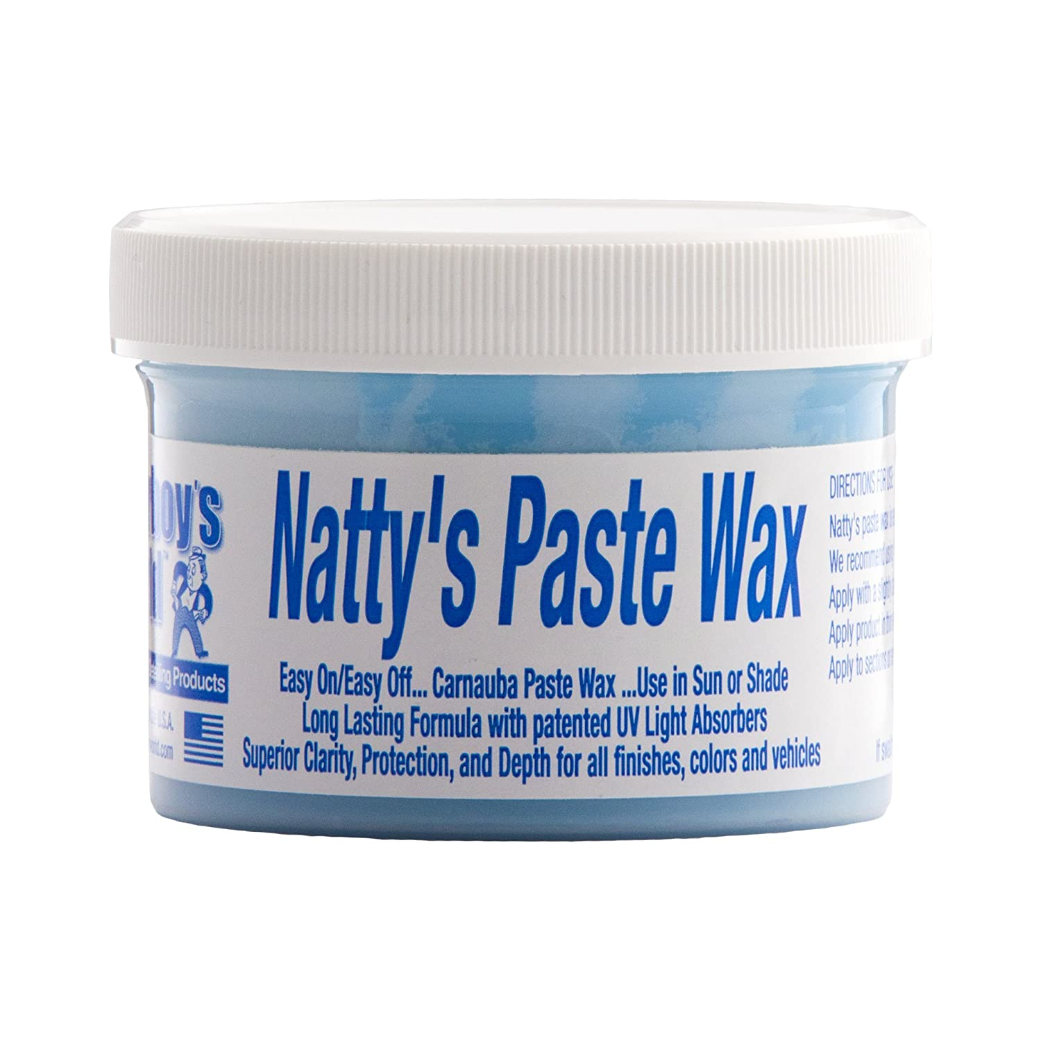 Poorboy's World NPB08 Natty's Paste Wax Blue Cera per Auto Poorboy' s World PB-NPB08