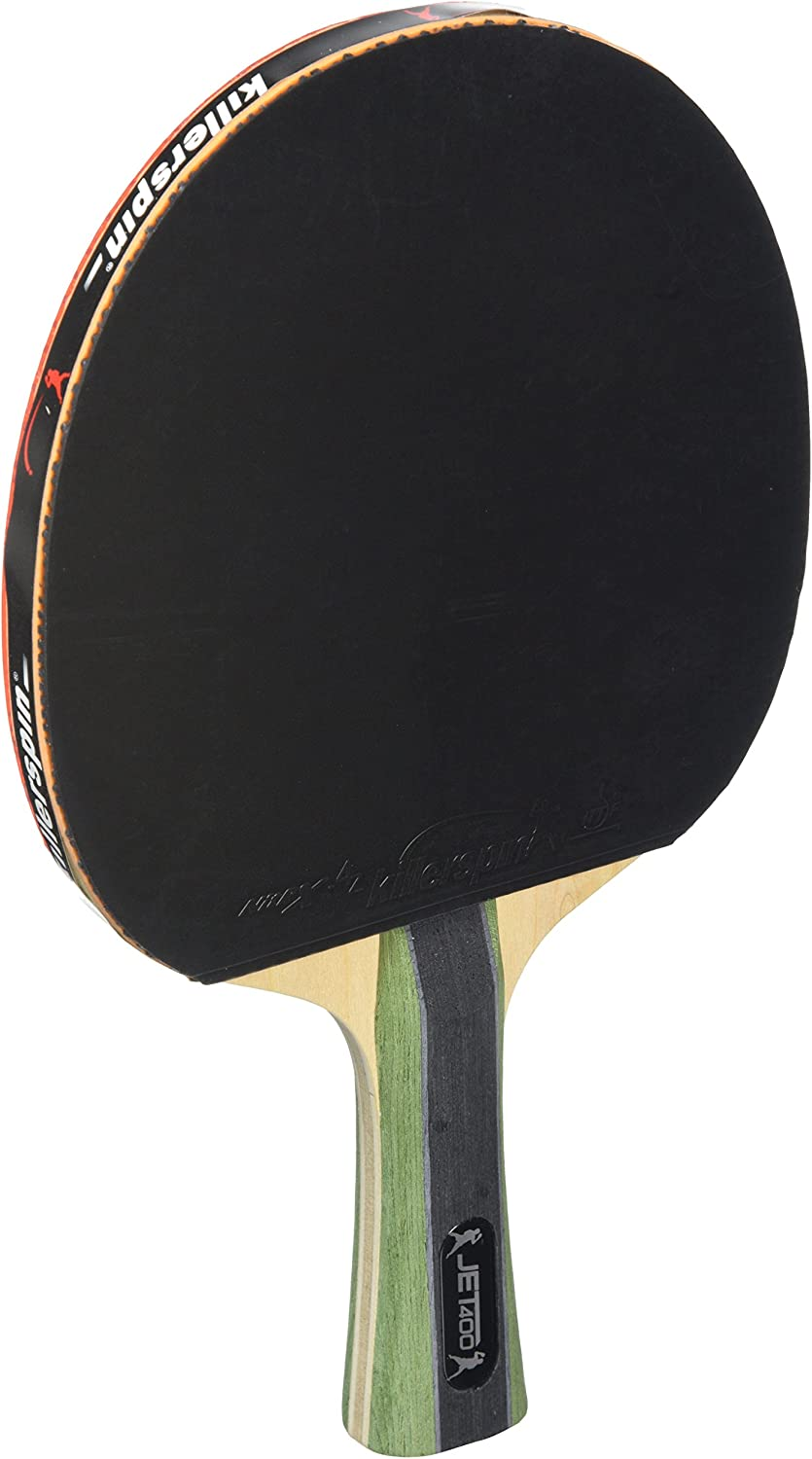 Killerspin La JET400 Smash N1 Pala de Tenis de Mesa, Unisex-Adult, Multicolor-Multicolor, One Size