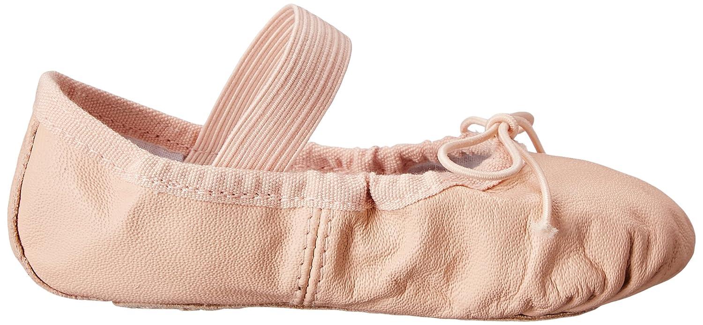 Bloch Dance Girls Dansoft Full Sole Leather Ballet Slipper//Shoe