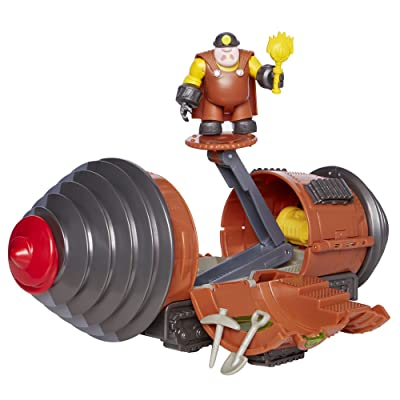 The Incredibles 2 Tunneler Vehicle Play Set with Junior Super Underminer Figure and 3 Accessory Pieces: Toys & Games