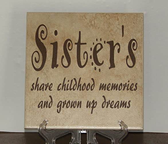 Amazon com: Sister's share childhood memories and grown up