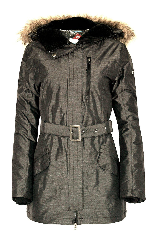 Columbia BEVERLY MOUNTAIN II Women's Winter OMNI HEAT SKI Jacket $200  XS Grey