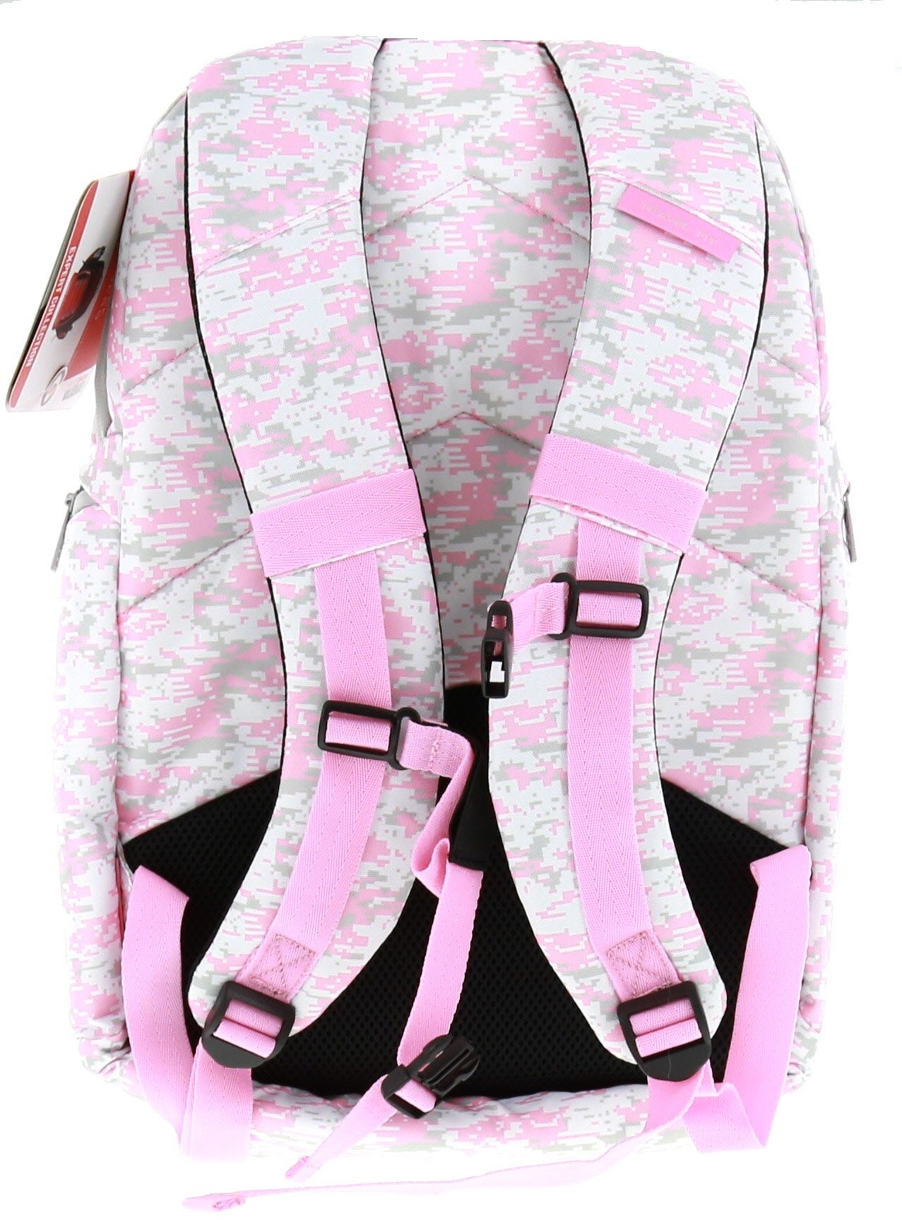 6 Pack Fitness Expedition Backpack W/ Removable Meal Management System 500 Pink & Grey Digital Camo w/ Bonus ZogoSportz Cyclone Shaker by 6 Pack Fitness (Image #7)