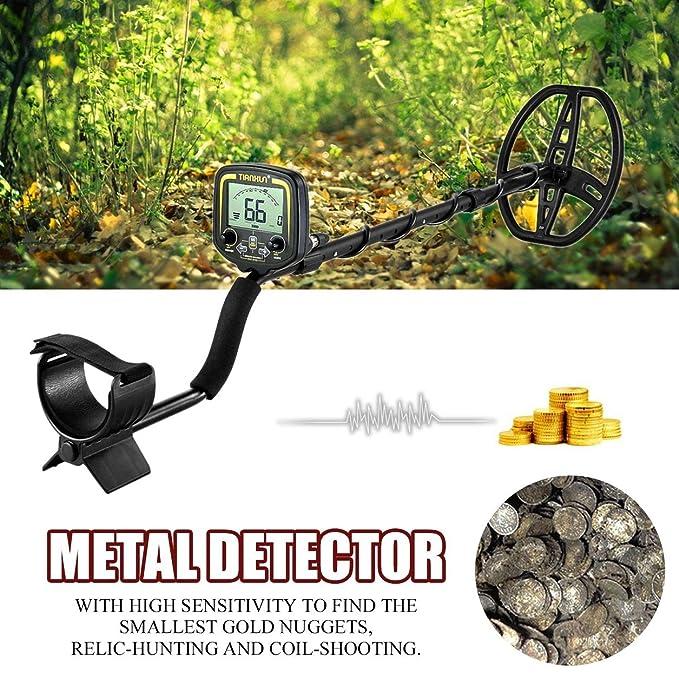 Dailyinshop TX-850 Detector de Metales Profesional de 2,5 m de Profundidad Metro Buscador de escáner: Amazon.es: Juguetes y juegos