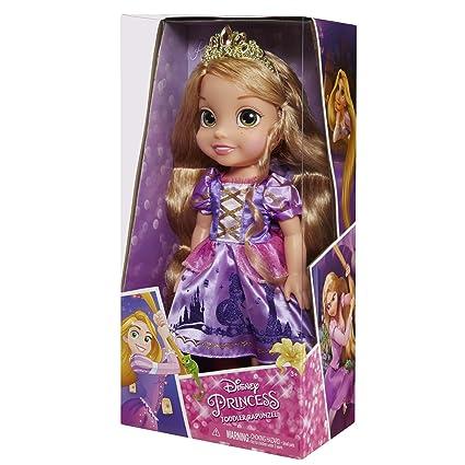 amazon com disney princess rapunzel toddler doll toys games