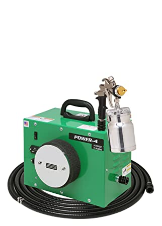 ApolloSpray Apollo HVLP POWER-4, 4-Stage Turbo Spray System Complete with 7500QT