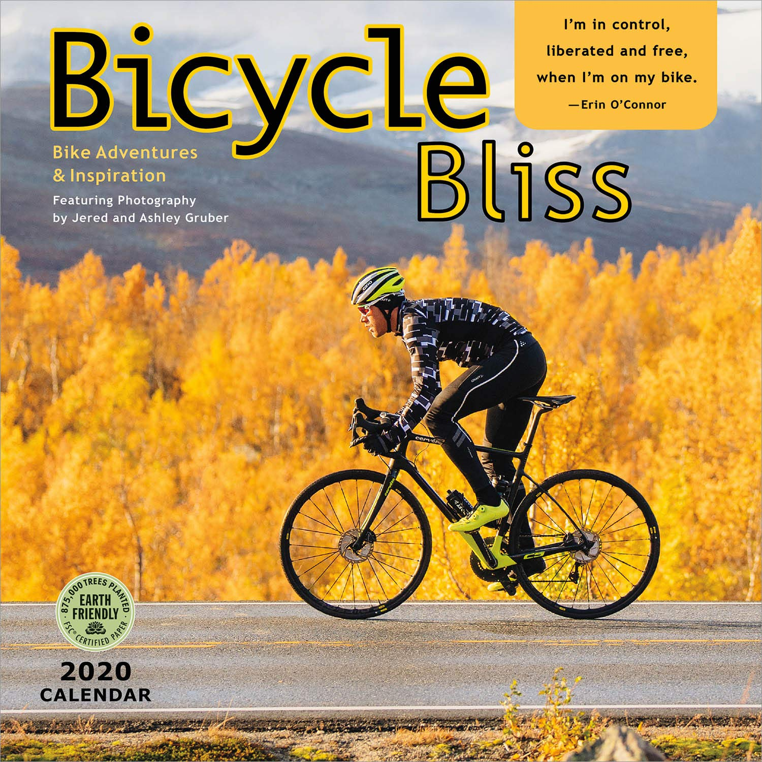Cycling Calendar 2020 Bicycle Bliss 2020 Wall Calendar: Bike Adventures and Inspiration