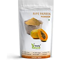 Ripe Papaya Fruit Powder ( Spray Dried Powder ) Taste Like Natural -100 GM by Holy Natural