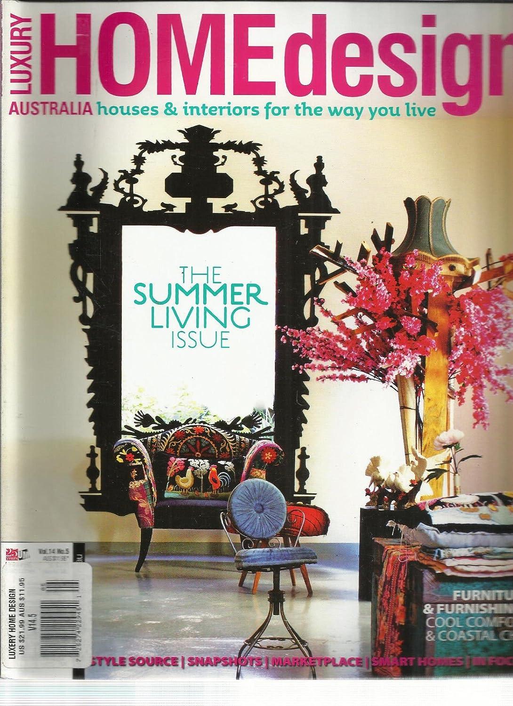Amazon.com  LUXURY HOME DESIGN, VOL.32 NO. 32 AUSTRALIA HOUSE ...