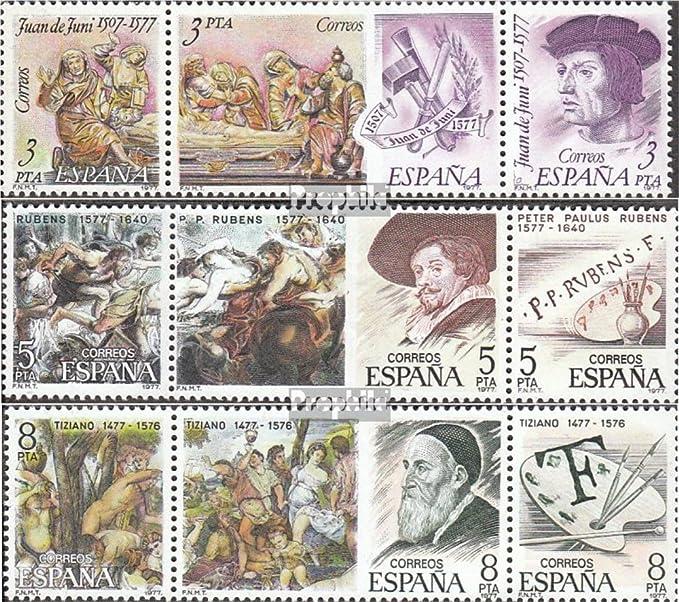 Prophila Collection España Michel.-No..: 2352-2360 Banda de Tres (Completa.edición.) 1978 Artista (Sellos para los coleccionistas) Pintura: Amazon.es: Juguetes y juegos