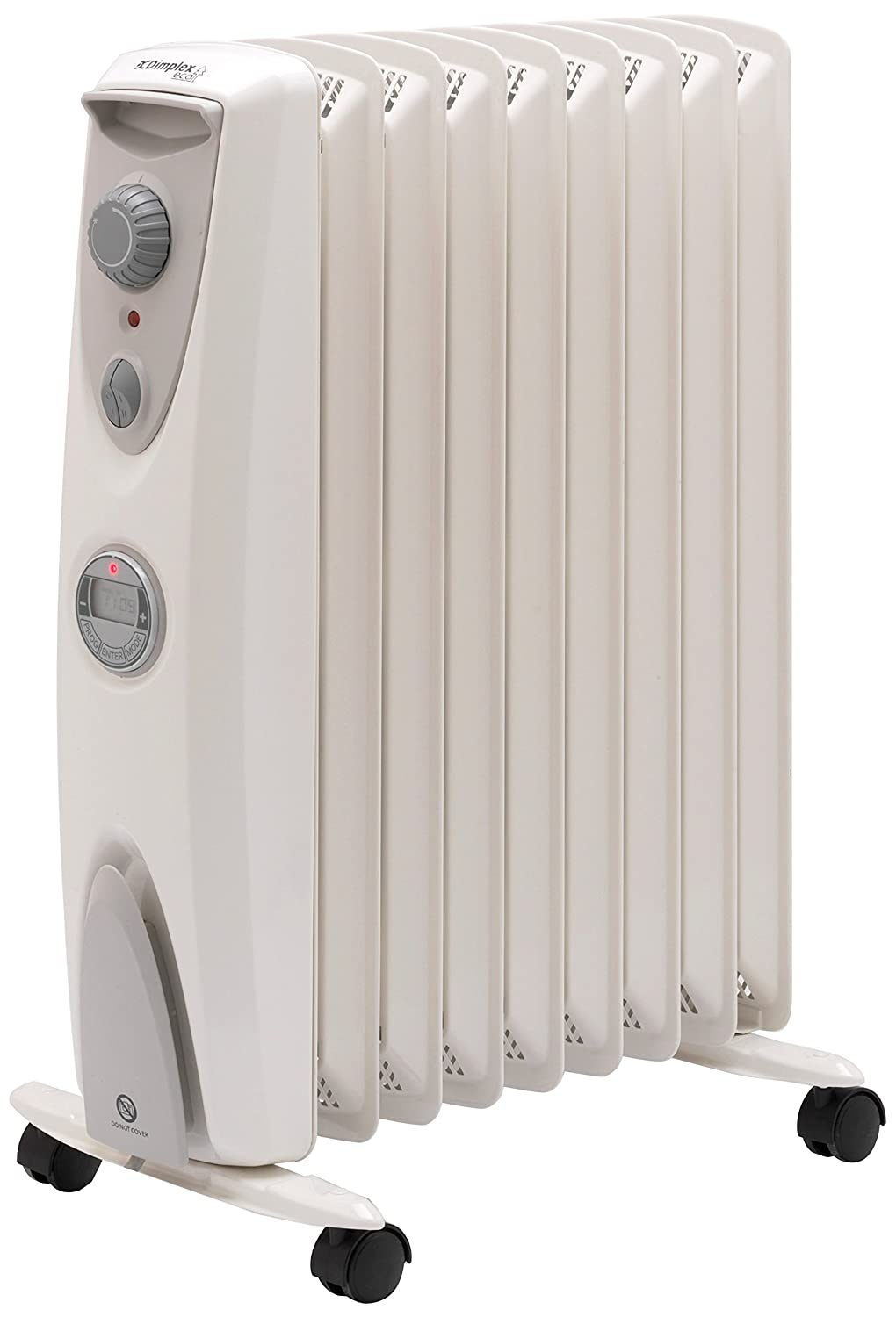 Dimplex OFRC20TiN 2 KW Oil Free Radiator with Timer [Energy Class A] OFCR20TiN