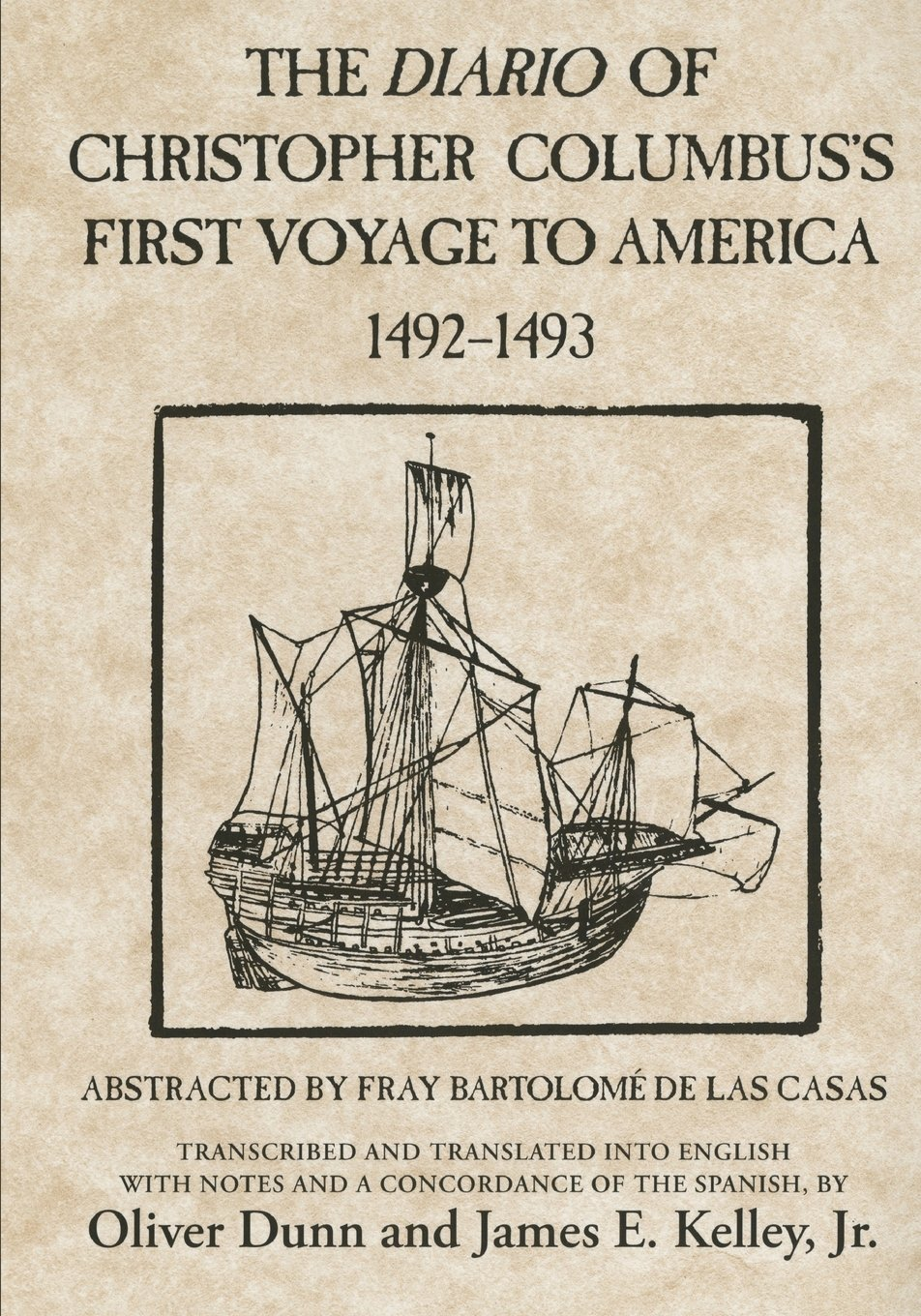 Amazon.com: The Diario of Christopher Columbus's First Voyage to America,  1492–1493 (American Exploration and Travel Series) (9780806123844):  Christopher ...