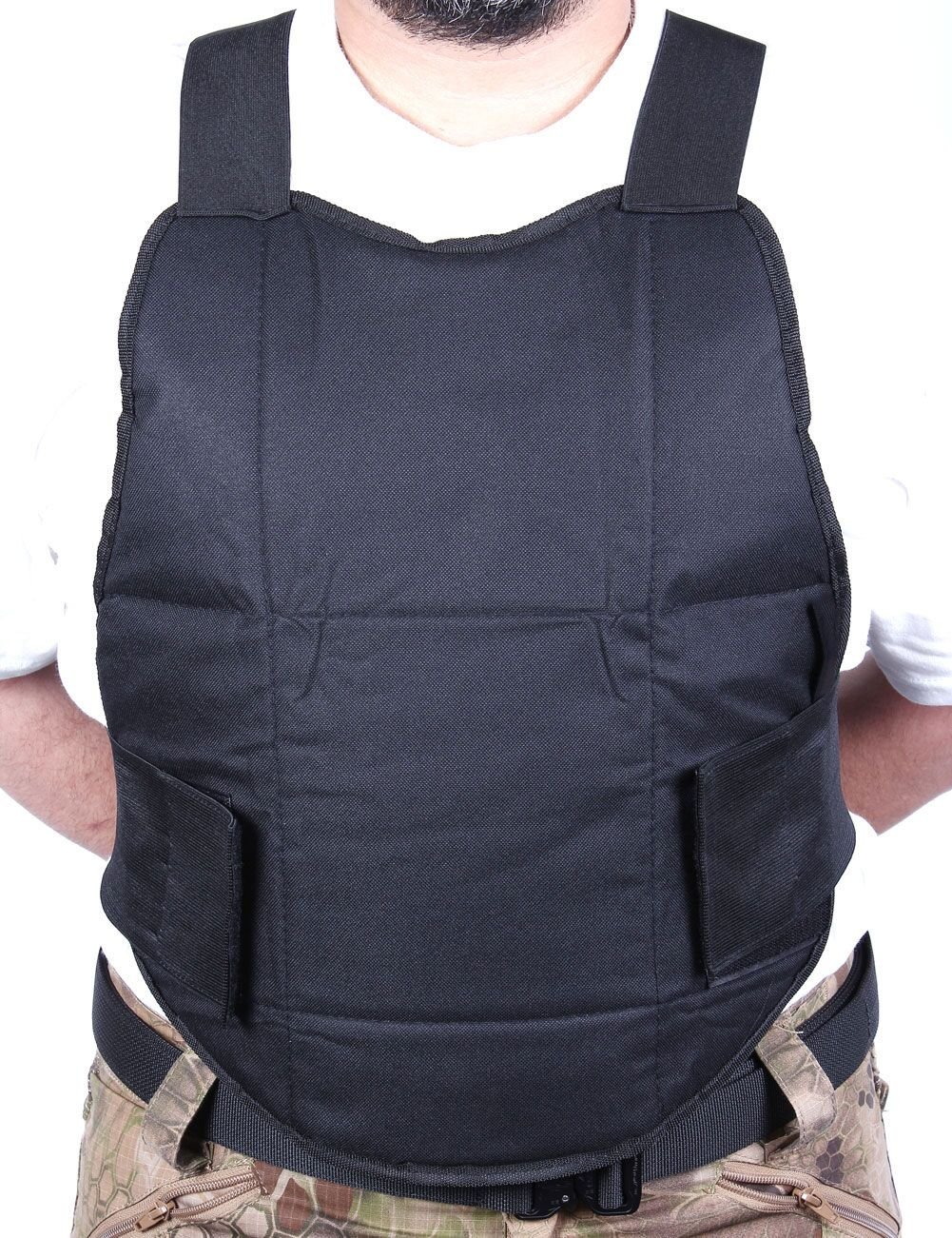 VIVOI Chest Protector - Padded Chest Protection for Paintball & Airsoft - Tactical Vest Body Armor Perfect for Outdoor Sports with Extra Padding for Professional Protection
