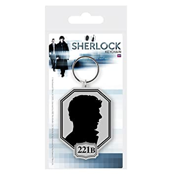 Pyramid International Sherlock Llavero Caucho Silhouette 6 ...
