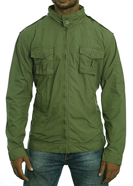 Amazon.com: NEXT ATLANTIC M-65 - Chaqueta para cortavientos ...