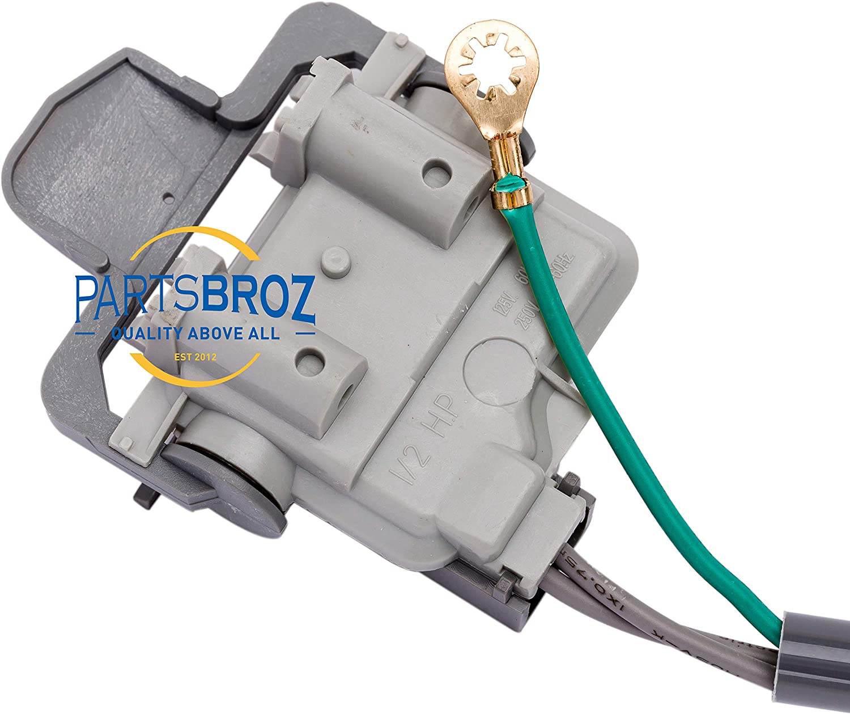 Interruptor de tapa de arandela 285671 para lavadoras Whirlpool ...