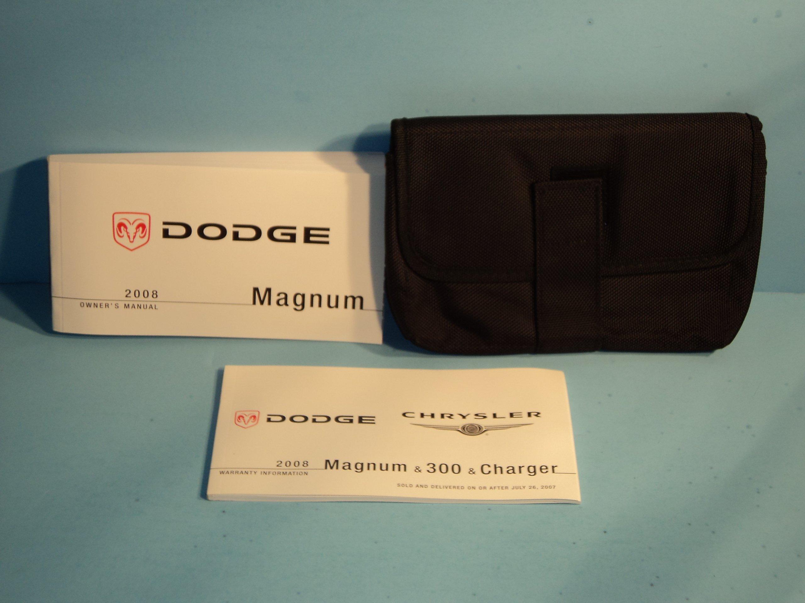 2008 dodge magnum manual