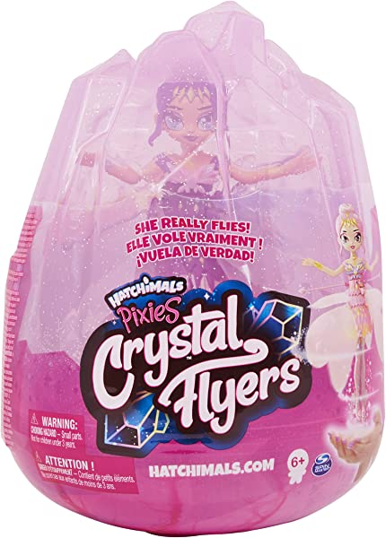 Hatchimals Pixies Crystal Flyers toy for kids in package