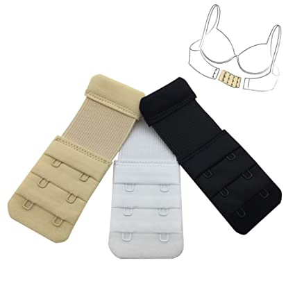 Women's Clothing Breast Forms, Enhancers 3 X Bra Extender 2 Hook Bra Strap No Sewing Maternity Pregnancy Girls Underwear Soft And Antislippery