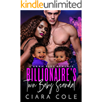 Billionaire's Twin Baby Scandal: A BWWM Baby Romance