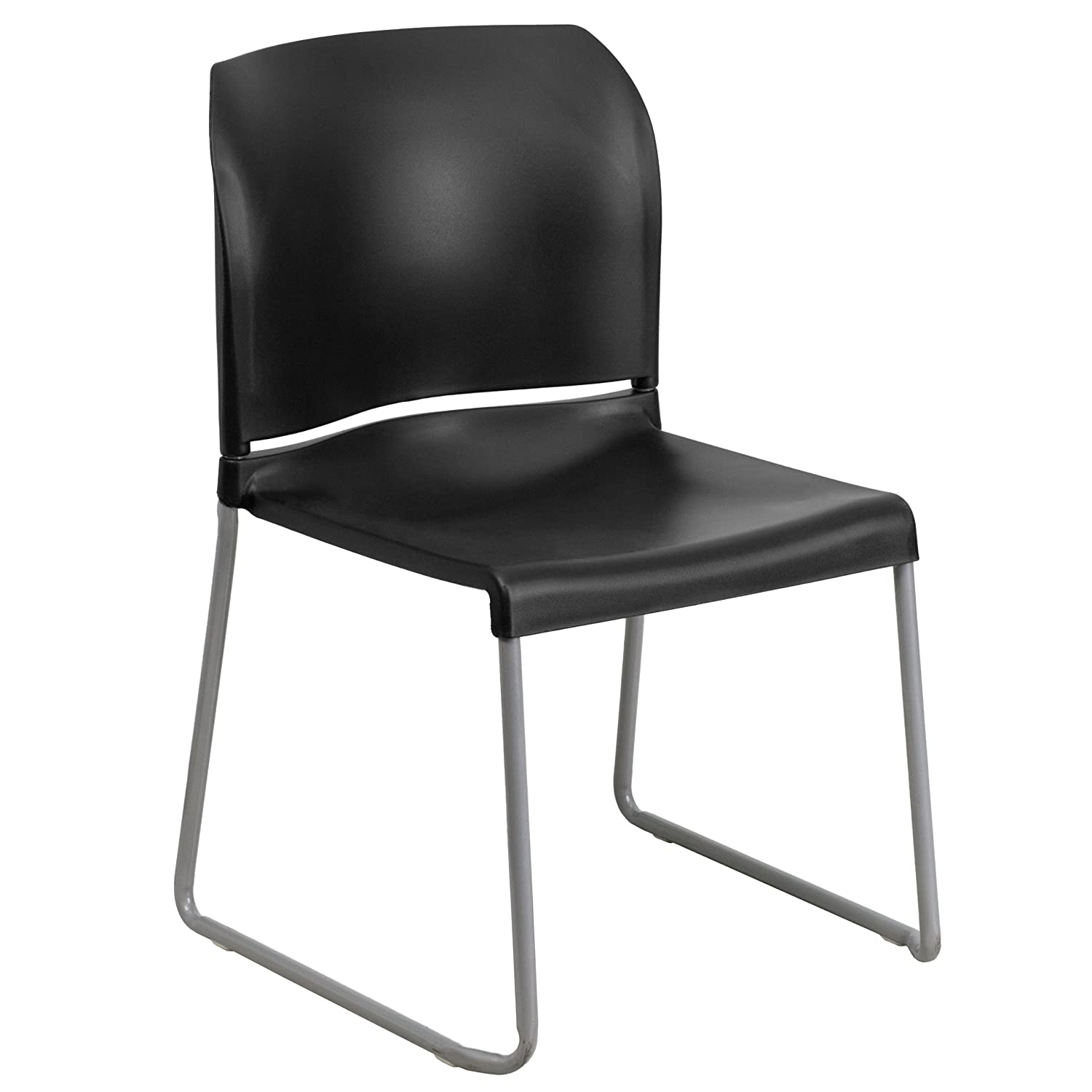 Stacking Chairs Amazoncom Office Furniture  Lighting -  black and white chairs