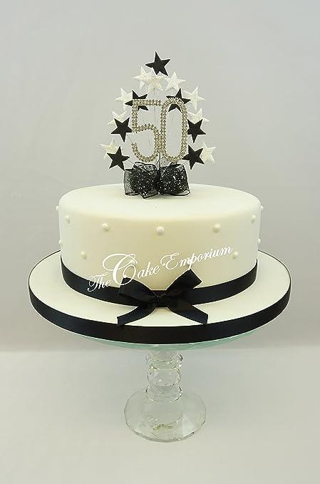 Decorazione Per Torta Diamante Per Festeggiare I 50 Anni
