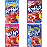 Kool-Aid Drink Mix, 4 Flavors Variety Pack, 48 Packets…