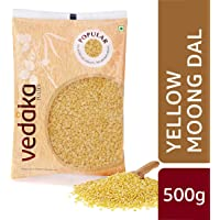 Amazon Brand - Vedaka Popular Moong Dal (Yellow), 500g