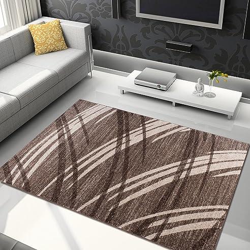 Beautiful DESIGNER TEPPICH NATUR MUSTER STREIFEN WOHNZIMMER BRAUN   PREISHAMMER  (80x150 Cm) Design Ideas