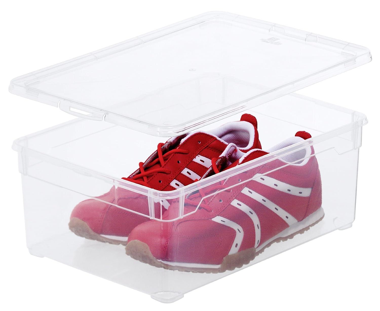 Fabulous Rotho 3368094094 3-er Set Clear Box Man Shoe 10 l  KF47