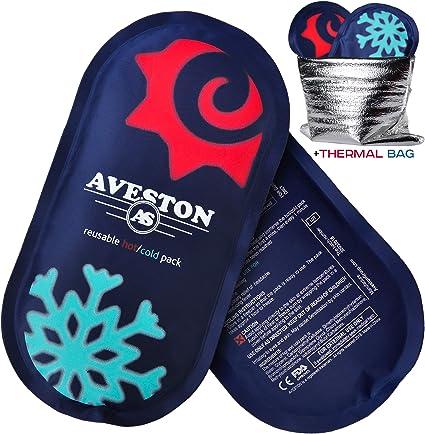 Amazon.com: Paquetes de hielo reutilizables para lesiones ...