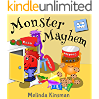 Monster Mayhem: Funny Rhyming Bedtime Story - Picture Book / Beginner Reader (Ages 3-7) (Top of the Wardrobe Gang…