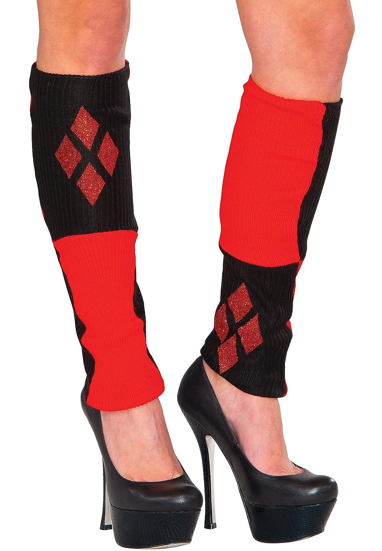 Rubie's Women's DC comics Harley Quinn legwarmers, Multi, One size Rubie' s Costume Co. 38025