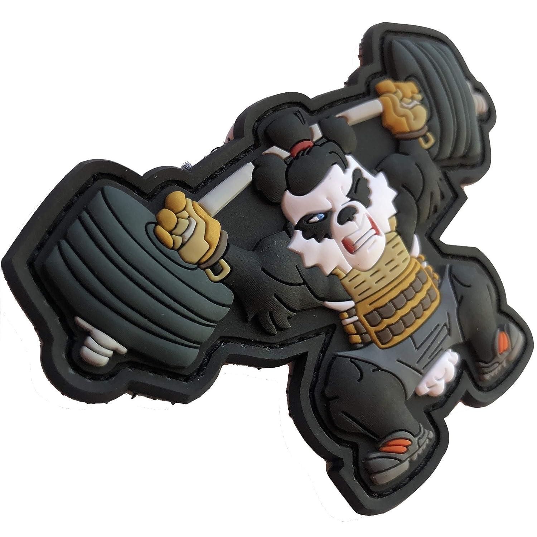 TACOPSGEAR Workout Xfit Fitness Panda Weightlift Patch by HIWEZ