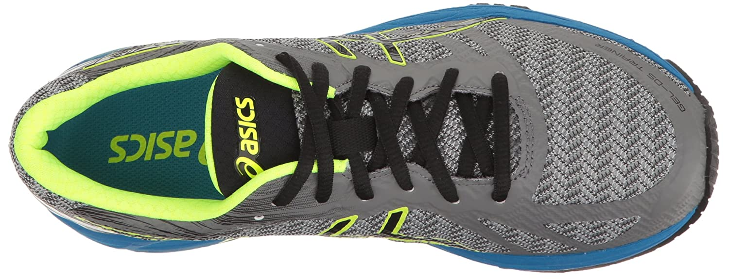 ASICS Men's Gel-DS Trainer 22 Running schuhe, schuhe, schuhe, Carbon schwarz Safety Gelb, 8.5 M US 49c7d5