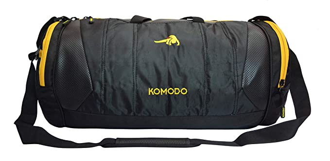 c510e6d38097ef KOMODO Polyester 28 L Waterproof Multi Pockets and Handles with Shoe  Compartment Gym Duffle Bag: Amazon.in: Bags, Wallets & Luggage