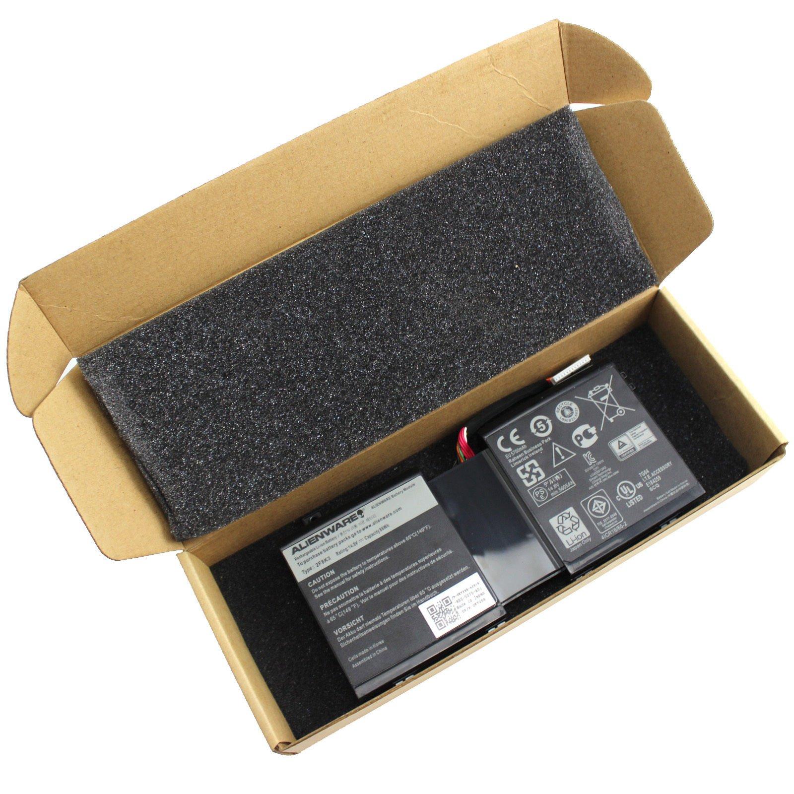 Laptop Battery Dell Alienware M17X R5/M18X R3 0G33TT 2F8K30KJ2PX 86WH by ABM