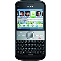 "Nokia E5-00 - Smartphone (pantalla de 6 cm (2,3""), Bluetooth, cámara de 5 Mpx), color negro"