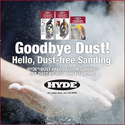 Tools Dust-Free Drywall Vacuum Hand Sander with 6-Foot Hose New 3.4 x 8 x 17 inches