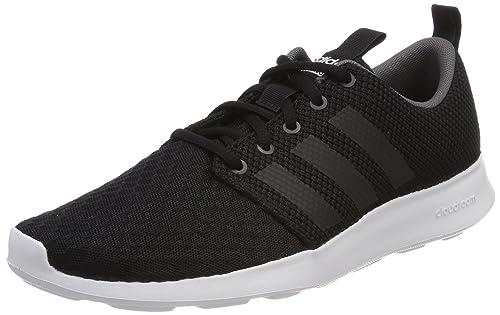 Mens CF Swift Racer Low-Top Sneakers, Black (Core Black/Carbon/Grey Five 0), 7.5 UK 42 EU adidas