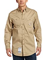 Carhartt Men's Big & Tall Flame Resistant Tradesman Twill Shirt