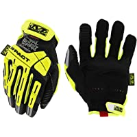 MECHANIX WEARSMP-C91-008 Cut Resistant Gloves, Hi-Vis Yllw, S, PR
