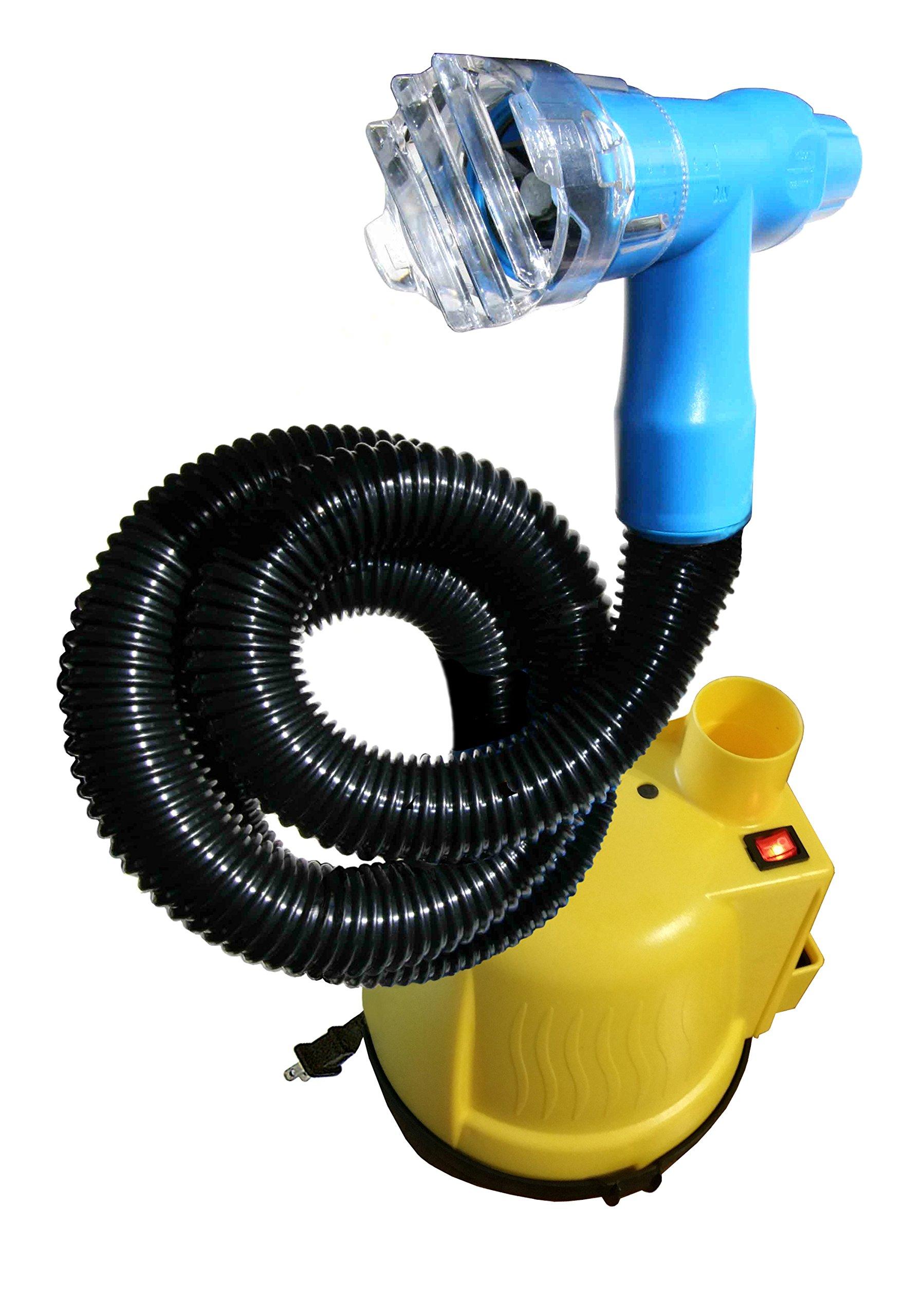 Haircut Pro-Bumblebee Vacuum Haircutter, Yellow/Blue, 8 Pound