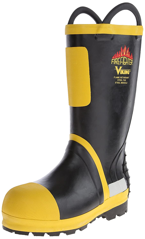 4af63797fbfb7 Viking Footwear Firefighter Felt Lined Waterproof FR Boot